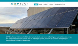 Cap Solar Website Rebuild