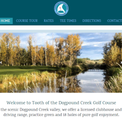 Tooth of the Dogpound Creek Golf Course